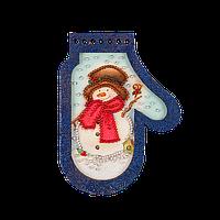 Елочная игрушка для вышивания бисером FLE-014