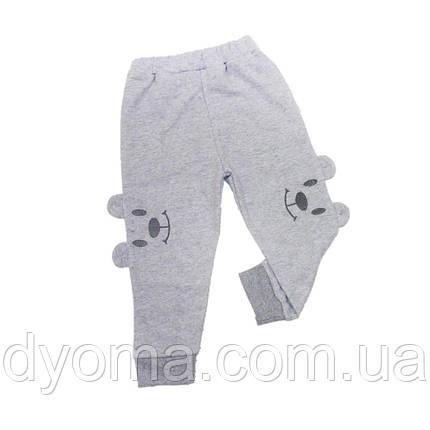 """Детские штанишки """"Мордочка"""" для мальчиков и девочек, фото 2"""