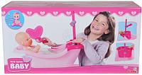 Ванна для новорожденных младенцев беби борн с душем 5560054, фото 1