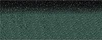 Коньково-карнизная черепица Aquaizol 250х1000 мм зеленая микс