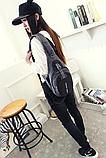 Рюкзак-бананка серо-черный, фото 7