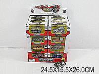 Машина металл.инерц. 89525 (996708) (12уп по 24шт/2) в коробке 24,5*15,5*26см