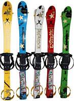 Детские лыжи с палками 6128