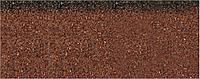 Коньково-карнизная черепица Aquaizol 250х1000 мм коричневая микс