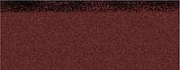 Коньково-карнизная черепица Aquaizol 250х1000 мм красная микс