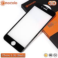 Защитное стекло Mocolo iPhone 8 (Black) 3D, фото 1