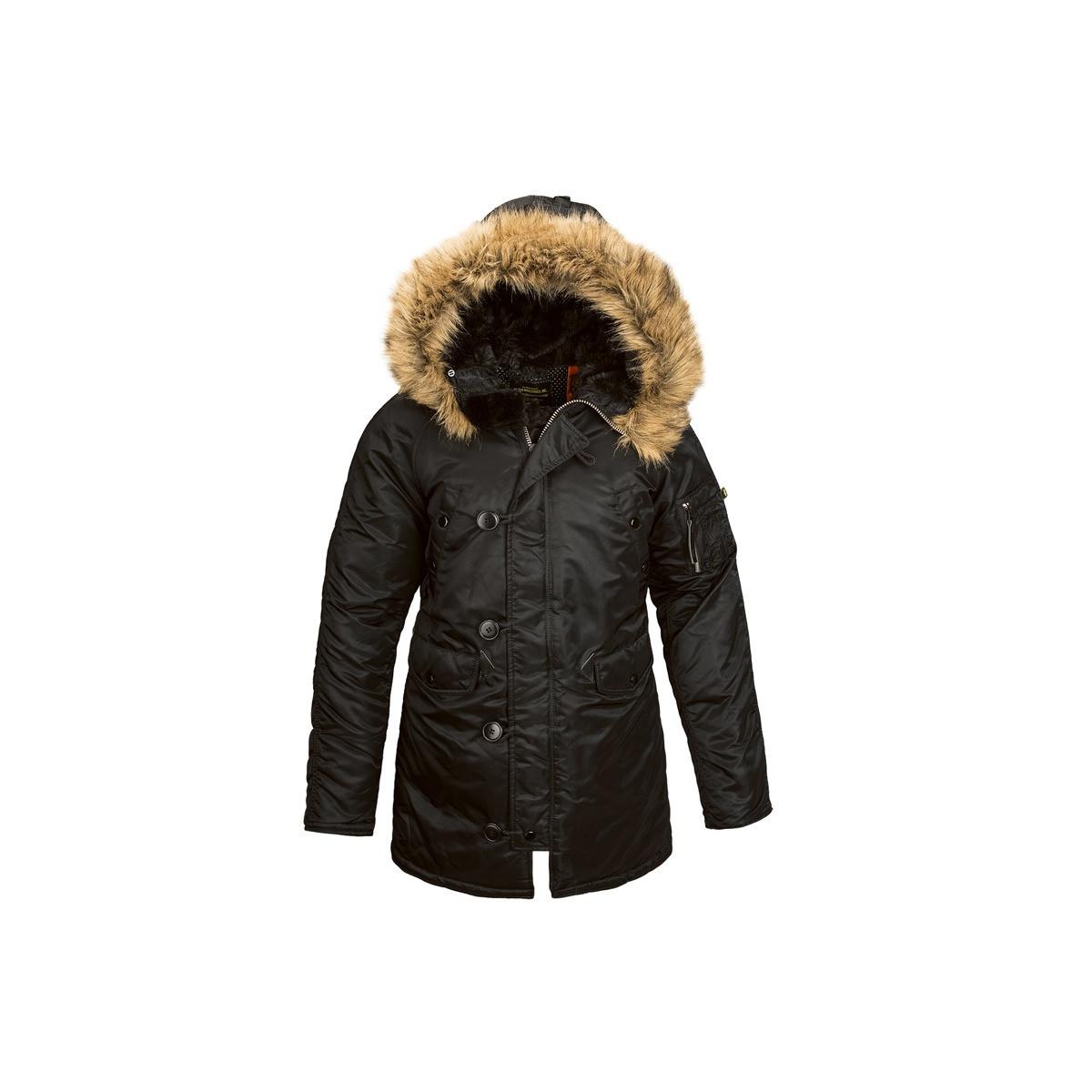 Женская зимняя куртка N-3B Women Alpha Industries