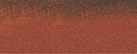 Коньково-карнизная черепица Aquaizol 250х1000 мм синай