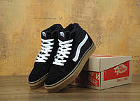 Зимние кеды Vans Old Skool high Ski8-Hi Pro SMU Sneakers с мехом