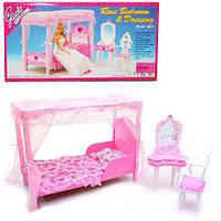 Мебель Gloria для спальни, кровать, туалетный столик