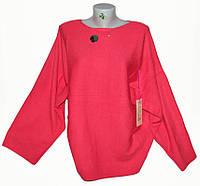 """Кофта женская с широкими рукавами, размер 54-56 (4 цвета) Серии """"ITALIA"""" купить оптом в Одессе на 7 км"""