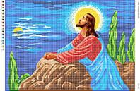 """Схема для вышивки бисером """"Иисус на оливной горе"""" БВР 2011"""