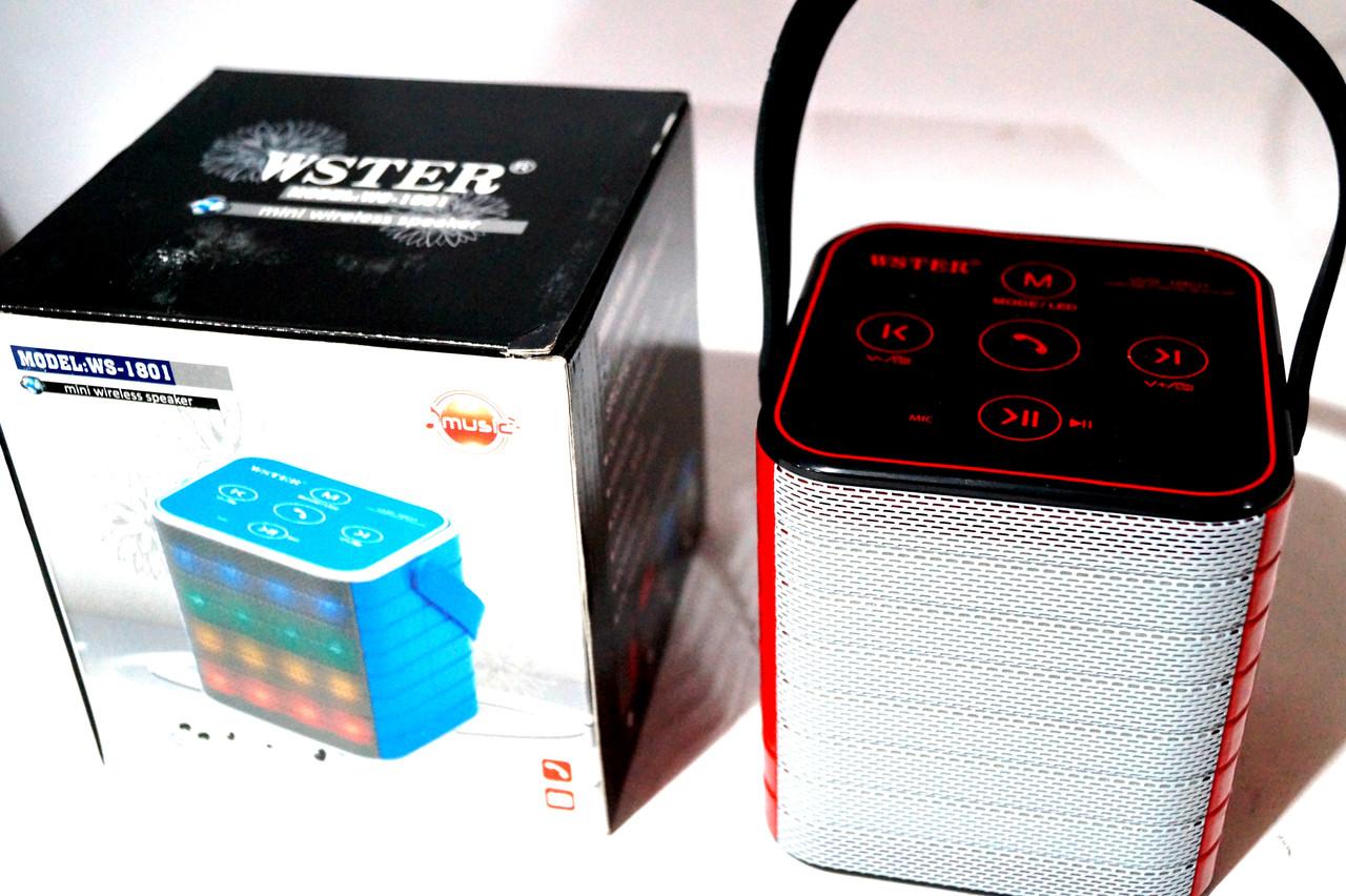 Портативная Bluetooth колонка WS 1801
