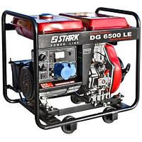 Генератор дизельный Stark DG 6500 LE 4,5-4,8 Квт