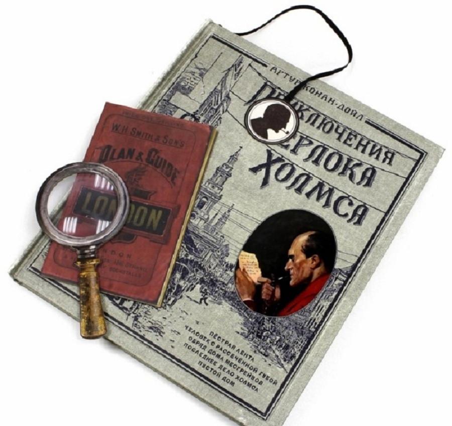 Приключения Шерлока Холмса. А. Дойл. Книга + Эпоха