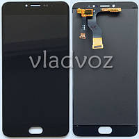 Дисплей модуль экран с сенсором для замены на Meizu M3 Note M681H M681Q M681C LCD черный