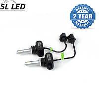 Комплект ламп в противотуманные  фонари SLP S1-LED Цоколь Н27(880)(PG13), 21W, 3250 Люмен/Комплект
