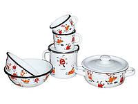 EPOS Набор детской эмалированной посуды - набор 163 Dog