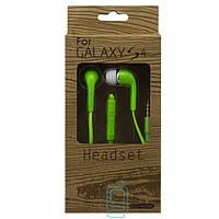 Наушники с микрофоном Samsung EO-HS330 Super Bass color зеленые