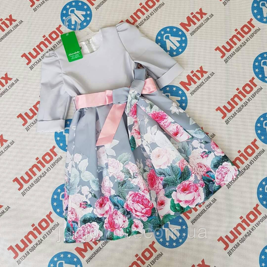 Опотом нарядные детские платья для девочек оптом  Alamakota. ПОЛЬША