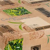 HONGDA Скатерть нетканая Зеленый чай 1.4х20х0.17 м
