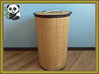 Корзина для белья и игрушек бамбуковая