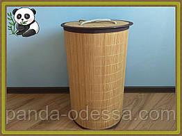 Кошик для білизни та іграшок бамбукова