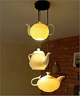 Люстра из фарфоровых чайников