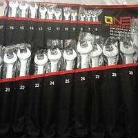 Ключи комбинированные, ключи рожково-накидные Onex 25 елементов 6-32 мм