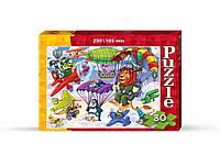 Пазли малі картонні 80 деталей (асорт./80), арт. 2909 (C80 -...), Danko Toys