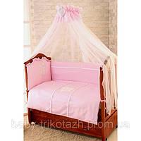 Наборы для новорожденных в кроватку 7 предметов Амур Greta, фото 1
