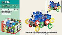 Переветыш машинка 1123A (240шт/2) паровозики Томас, 3 вида, в кор