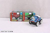 Переветыш машинка на батарейках  1123 ТОМАС (240шт/2) 3 цвета, в коробке 13*11*9 см.