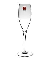 Бокал для шампанского 260 мл. на ножке, стеклянный Premium, Bormioli Rocco