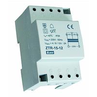 Звонковый трансформатор ZTR-15-12V AC 15V ELKOep