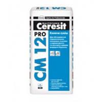 CERESIT Клеящая смесь для керамогранита и плитки Церезит СМ-12 PRO (27 кг)