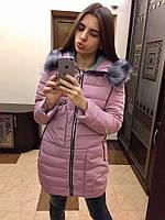 Женская длинная куртка с накладными карманами, фото 1
