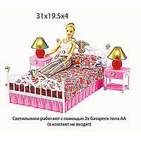 Мебель для куклы Gloria 99001  для спальни,  в коробке  31*19*4 см.