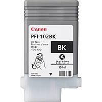Картридж Canon PFI-102Bk Black для iPF600/700, 130 мл