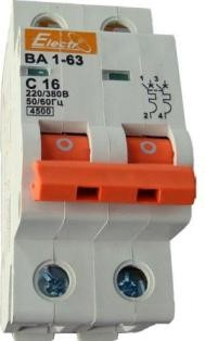 Выключатель автоматический ВА1-63 2р/С63А 4,5кА