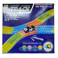 Гибкая светящаяся гоночная трасса Magic Track (160 деталей)