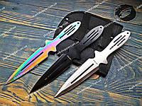 Набор метательных ножей Rainbow 3в1