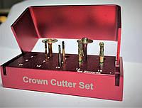 Набор боров Crown Cutter Set, (9шт)