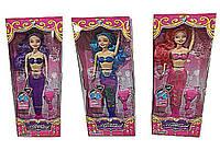 Кукла  Русалочка  699-246/247  3 вида,   меняет цвет от тепла,  с аксессуарами в  коробке 13*5*37  см.