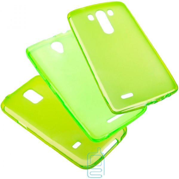 Чехол силиконовый цветной Sony Xperia M4 Aqua E2312 зеленый