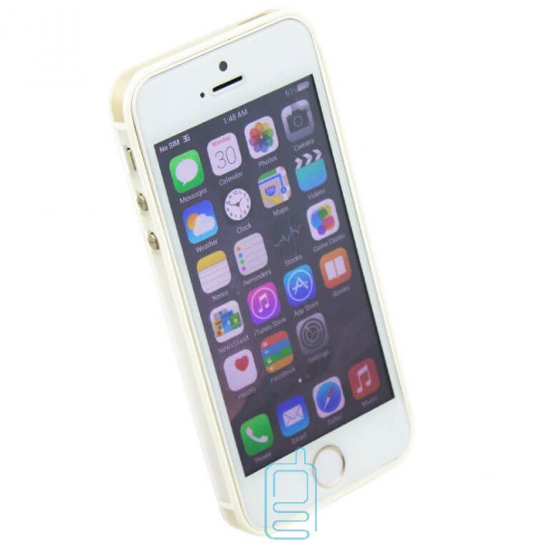 Чехол-бампер Apple iPhone 5 Vser белый