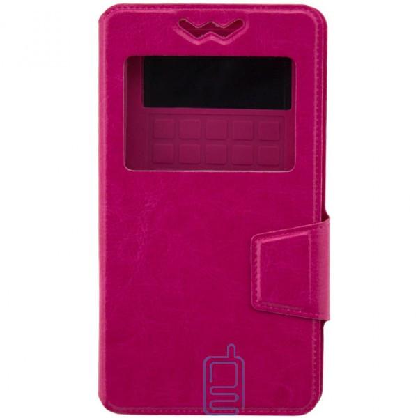 Универсальный чехол-книжка Case слайдер 3.5″ розовый