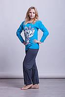 Женская теплая пижама Asma Турция 1004