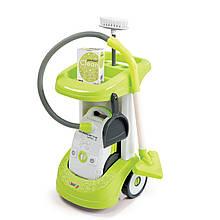 Тележка для уборки с пылесосом Smoby 24406