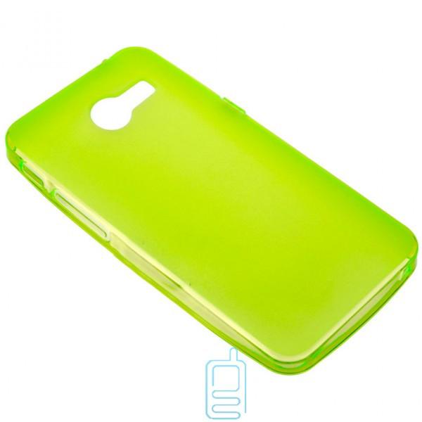 Чехол силиконовый цветной ASUS ZenFone 4 зеленый